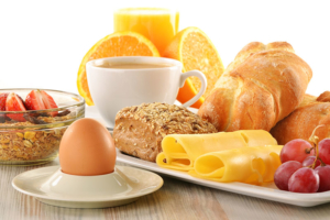 Frühstücksangebot